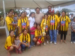 Apoyo al deporte - Campeonas Urbanización Nueva Esperanza.