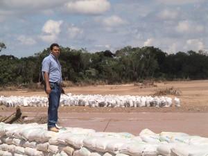 Trabajos de emergencia 2008 - La Guardia km14.
