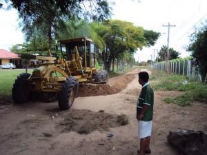 Arreglo de caminos - km 12 al norte Valle Sánchez