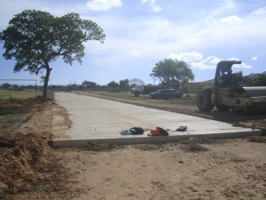 Pavimentación Santa Cruz