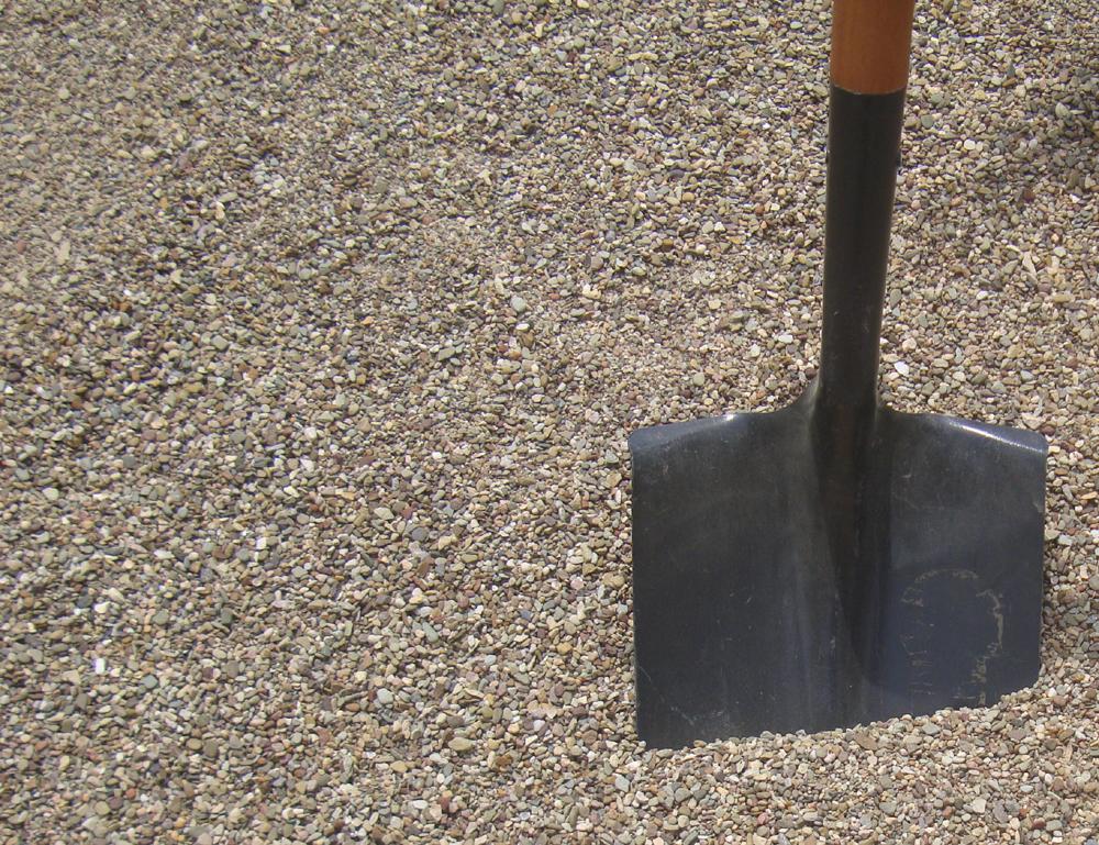 Fino de asfalto o chip de 3/8